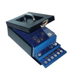 COIN CASE NOVA - EMPTY - FOR 5 COIN BOXES - REF 6320S/SAFE