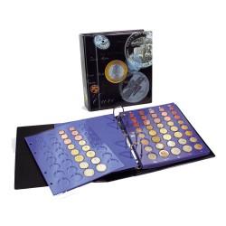 """ALBUM """"TOPSET"""" POUR SERIES D'EUROS SANS CAPSULES - REF 7817/SAFE"""