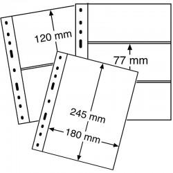 Batch von 10 OPTIMA-Blättern für 1, 2 oder 3 Banknoten - OPTIMA 1C, 2C und 3C