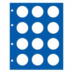 """FEUILLE """"TOPSET"""" POUR LES 10 EUROS 2014-2015 SANS CAPSULES - REF 7310-7/SAFE"""