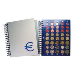 "FEUILLE ""TOPSET"" POUR 1 SERIE D'EUROS - REF 7856/SAFE"
