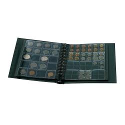 """ALBUM """"COIN-COMBI"""" + 4 PAGES ET ETUIS - REF 864/SAFE"""