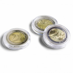 BOX OF 10 ROUND COIN CAPSULES ULTRA (17 to 41 mm)