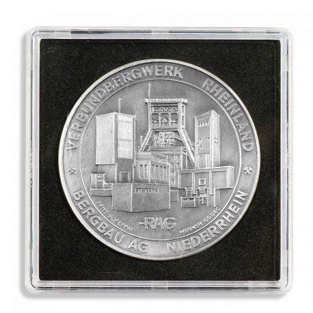 BOX OF 5 COIN CAPSULES QUADRUM XL (42 to 58 mm)