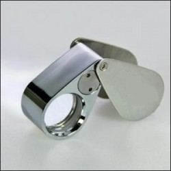 LOUPE DE PRECISION LED + UV GROSSISSEMENT X 40 - REF 4640/SAFE