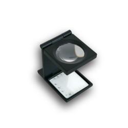 LOUPE DE PRECISION EN METAL COMPTE-FILS X 6 - REF 9535/SAFE