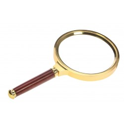 "LOUPE A MANCHE ""GOLD EDITION"" XL GROSSISSEMENT X 3 - REF 4658/SAFE"