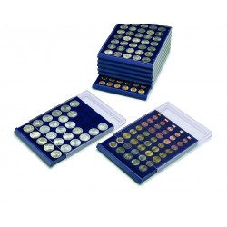 REF6338/SAFE - MEDAILLER NOVA 20 PIECES DE 38 MM