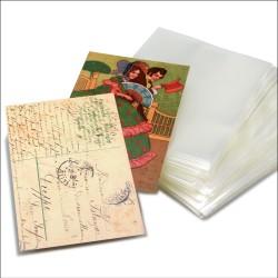 100 ETUIS POUR CARTES POSTALES ANCIENNES - REF 1740/SAFE