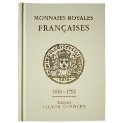 MONNAIES ROYALES FRANCAISES 1610 - 1792 GADOURY - REF1839/12