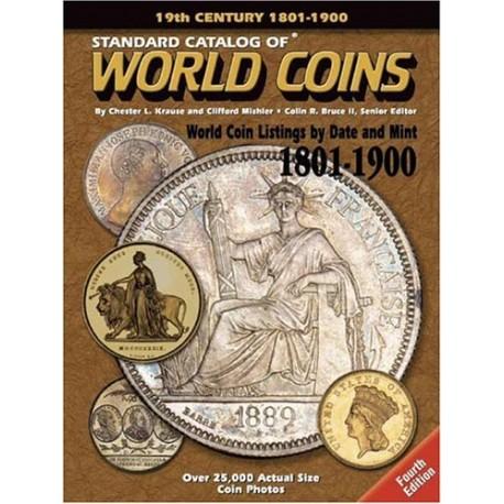 WORLD COINS 1801-1900 - 19EME SIECLE - 8EME EDITION 2016