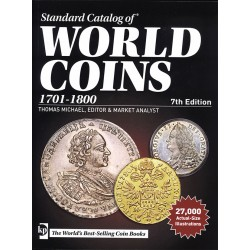 WORLD COINS 1701 - 1800 - 18ème SIECLE - 7EME EDITION 2017 - REF1842-2