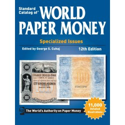 WORLD PAPER MONEY EMISSIONS SPECIALISEES DEPUIS 1368 - 12EME EDITION - 1844/SAFE