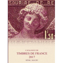 MAURY FRANCE 2017 - TIMBRES DE FRANCE DEPUIS 1849 - ARTHUR MAURY - REF 1760/17/SAFE