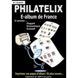 PHILATELIX - E-ALBUM DE FRANCE - CD-ROM - REF 1749/SAFE