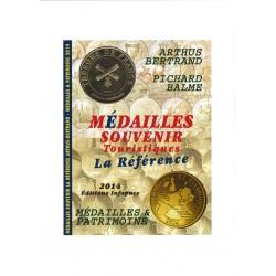"""MEDAILLES SOUVENIR TOURISTIQUES """"LA REFERENCE"""" - JEAN-LUC GOSSE - REF 1889/14/SAFE"""