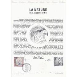 75 - PARIS - TIMBRE 1.70 FRANCS - 07/01/1978 - LA NATURE PAR JACQUES BIRR