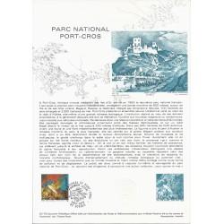 83 - HYERES - TIMBRE 1.25 FRANCS - 15/04/1978 - PARC NATIONAL PORT-CROS