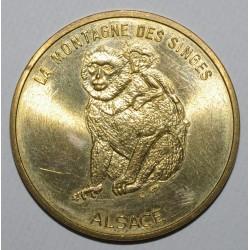 67 - KINTZHEIM - LA MONTAGNE DES SINGES - MONNAIE DE PARIS 1998 - SPLENDIDE
