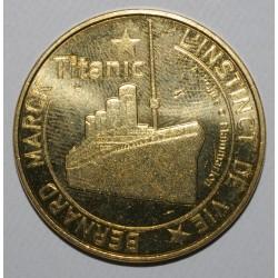 75 - PARIS - LE TITANIC - L'INSTINCT DE VIE - MDP - 2012