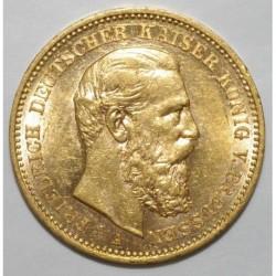GERMAN STATES - PRUSSIA - KM 515 - FRIEDRIICH - 20 MARK 1888 A - OR - SUP