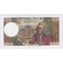 FAY 62/30 - 10 FRANCS VOLTAIRE - 07/12/1967 - SUPERBE - PICK 147