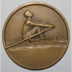 MEDAILLE - REGATES 1928 - AVIRON - ST QUENTIN