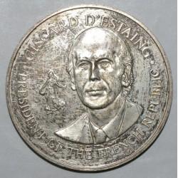 MEDAILLE - VISITE DU PRESIDENT GISCARD D'ESTAING AU ETATS UNIS - MAI 1976