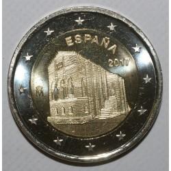 ESPAGNE - 2 EURO 2017 - EGLISE SANTA MARIA - SUP / FDC