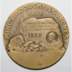 59 - MINES DE DOUCHY A LOURCHES - 1832 - 1932 - RARE - TTB