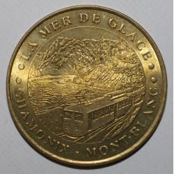 74 - CHAMONIX - LA MER DE GLACE - MONT BLANC - MDP - 2002