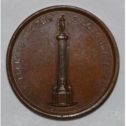 59 - LILLE - 1845 - AUX LILLOIS DE 1792 - DECRET DE LA CONVENTION NATIONALE