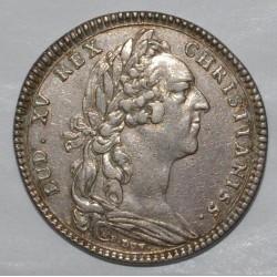 59 - LES ETATS DE LILLE - LOUIS XV AU BANDEAU - 1737 - TTB