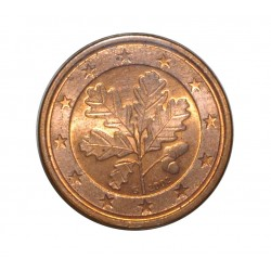ALLEMAGNE - 1 CENT 2002 G - RAMEAU DE CHENE - SUPERBE A FLEUR DE COIN