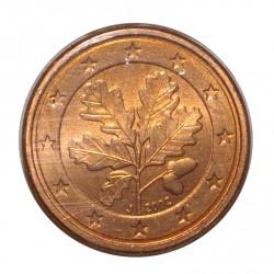 ALLEMAGNE - 1 CENT 2002 D - RAMEAU DE CHENE - SUPERBE A FLEUR DE COIN