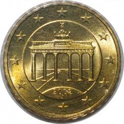 ALLEMAGNE - 10 CENT 2002 J - PORTE DE BRANDEBOURG - SUPERBE A FLEUR DE COIN