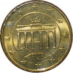 ALLEMAGNE - 10 CENT 2002 G - PORTE DE BRANDEBOURG - SUPERBE A FLEUR DE COIN
