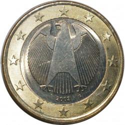 ALLEMAGNE - 1 EURO 2002 G - FLEUR DE COIN - UNC