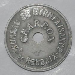 59 - ROUBAIX - BUREAU DE BIENFAISANCE - CHARBON