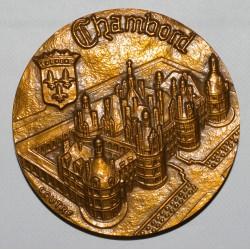 41 - CHAMBORD - CHATEAU - 1979 - MONNAIE DE PARIS - SPL