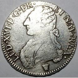 Gad 356 - LOUIS XVI - ECU AUX BRANCHES D'OLIVIER - 1775 I (LIMOGES) - TB