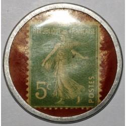 TIMBRE MONNAIE - 5 CENTIMES SPIDOLEINE - TRES TRES BEAU