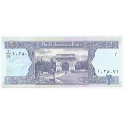 AFGHANISTAN - PICK 65 - 2 AFGHANIS - 2002 (SH 1381) - NEUF