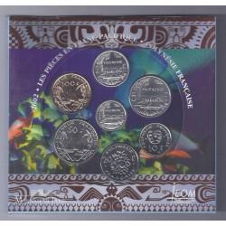 POLYNESIE - COFFRET BRILLANT UNIVERSEL 2002 - 188 FRANCS