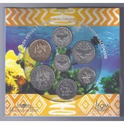 NOUVELLE CALEDONIE - COFFRET 2002 BRILLANT UNIVERSEL - 188 FRANCS