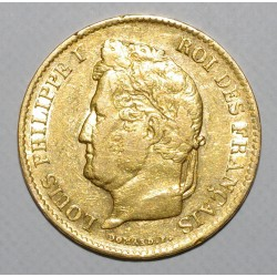GADOURY 1106 - 40 FRANCS 1836 A - OR - LOUIS PHILIPPE - TTB- - KM 747.1