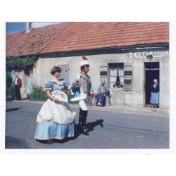 02330 - BAULNE EN BRIE - PHOTO DE LA FÊTE EN COSTUME D'ÉPOQUE