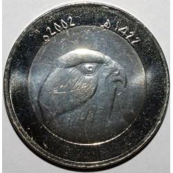ALGERIE - 10 DINARS 2002 - FAUCON - SUPERBE A FLEUR DE COIN