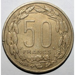 AFRIQUE EQUATORIALE FRANCAISE - 50 FRANCS 1961 - TRES TRES BEAU