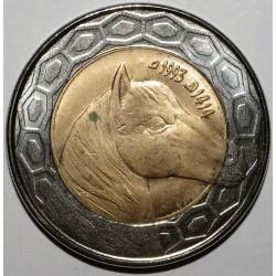 ALGERIE - 100 DINARS 1993 - CHEVAL - FLEUR DE COIN